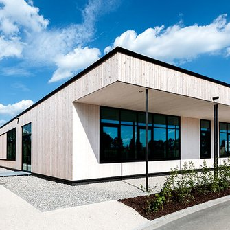 The new Montessori School in Neuötting (photo: Antje Hanebeck)